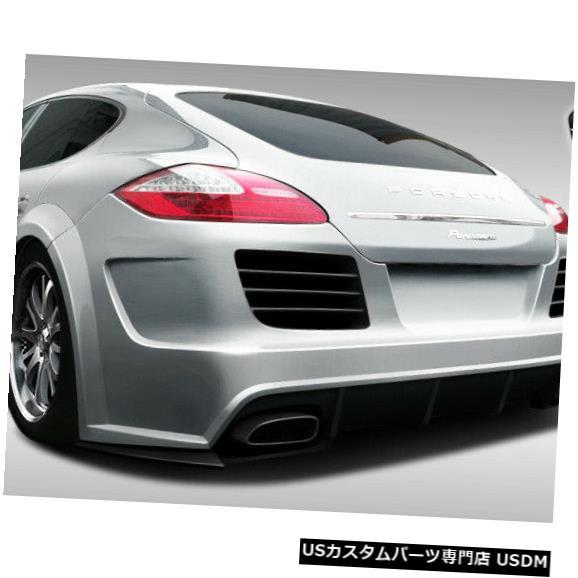Rear Bumper 10-13ポルシェパナメーラエロスV.4デュラフレックスリアワイドボディキットバンパー!!! 108290 10-13 Porsche Panamera Eros V.4 Duraflex Rear Wide Body Kit Bumper!!! 108290