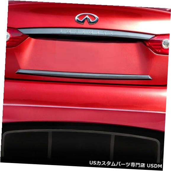 Rear Bumper 14-17 Infiniti Q50 Impulse Duraflexリアバンパーリップボディキットに適合!!! 113538 14-17 Fits Infiniti Q50 Impulse Duraflex Rear Bumper Lip Body Kit!!! 113538