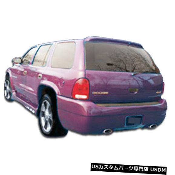 Rear Bumper 98-03ダッジデュランゴプラチナDuraflexリアボディキットバンパー!!! 101813 98-03 Dodge Durango Platinum Duraflex Rear Body Kit Bumper!!! 101813
