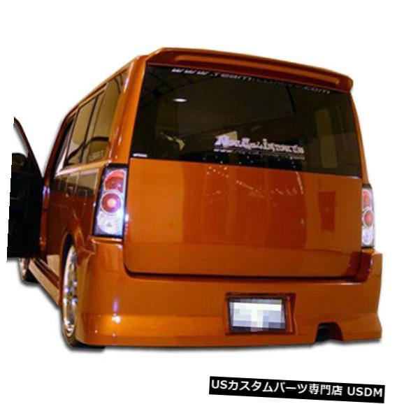 Rear Bumper 04-07 Scion xB FAB Duraflexリアボディキットバンパー!!! 100618 04-07 Scion xB FAB Duraflex Rear Body Kit Bumper!!! 100618