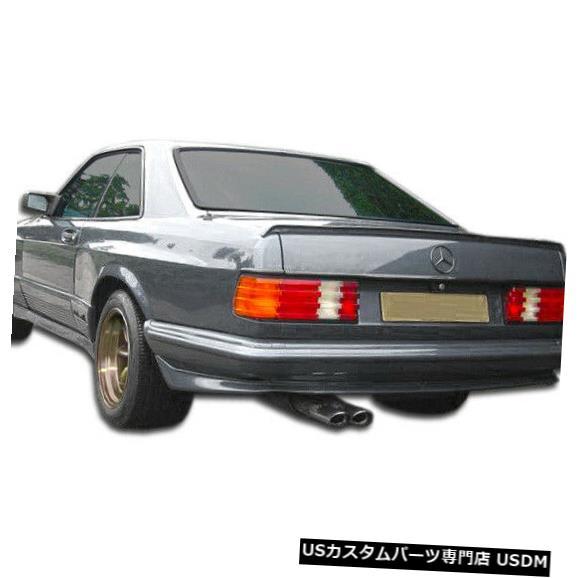 Rear Bumper 81-91 Mercedes S Class 2DR AMG Look Duraflex Rear Wide Body Kit Bumper !!! 107197 81-91 Mercedes S Class 2DR AMG Look Duraflex Rear Wide Body Kit Bumper!!! 107197