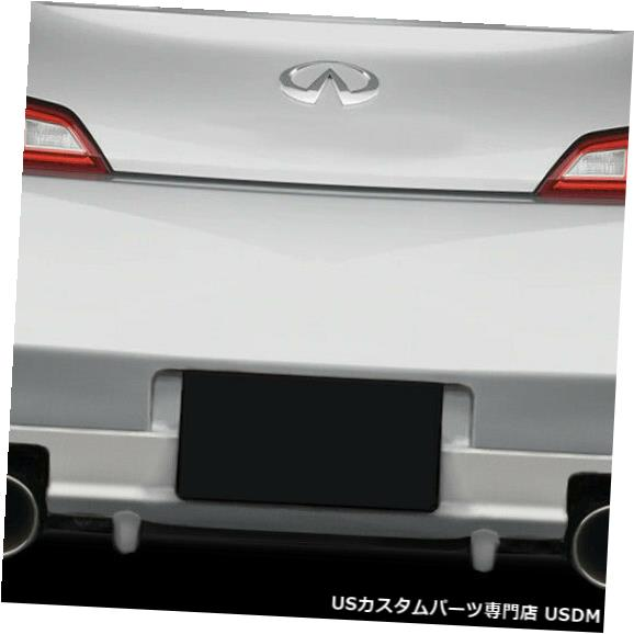 Rear Bumper 03-07 For Infiniti G Coupe 2DR Vader Duraflexリアバンパーリップボディキット!!! 114931 03-07 For Infiniti G Coupe 2DR Vader Duraflex Rear Bumper Lip Body Kit!!! 114931