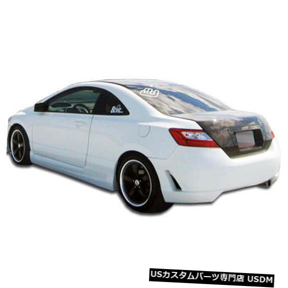 Rear Bumper 06-11ホンダシビック2DR TR-Nデュラフレックスリアボディキットバンパー!!! 104929 06-11 Honda Civic 2DR TR-N Duraflex Rear Body Kit Bumper!!! 104929