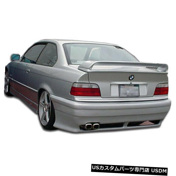 Rear Bumper 92-98 BMW 3シリーズコンバーチブルR-1 Duraflexリアボディキットバンパー!!! 101095 92-98 BMW 3 Series Convertible R-1 Duraflex Rear Body Kit Bumper!!! 101095