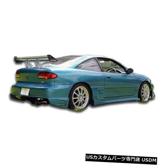 Rear Bumper 95-02シボレーキャバリアドリフターデュラフレックスリアボディキットバンパー!!! 101519 95-02 Chevrolet Cavalier Drifter Duraflex Rear Body Kit Bumper!!! 101519