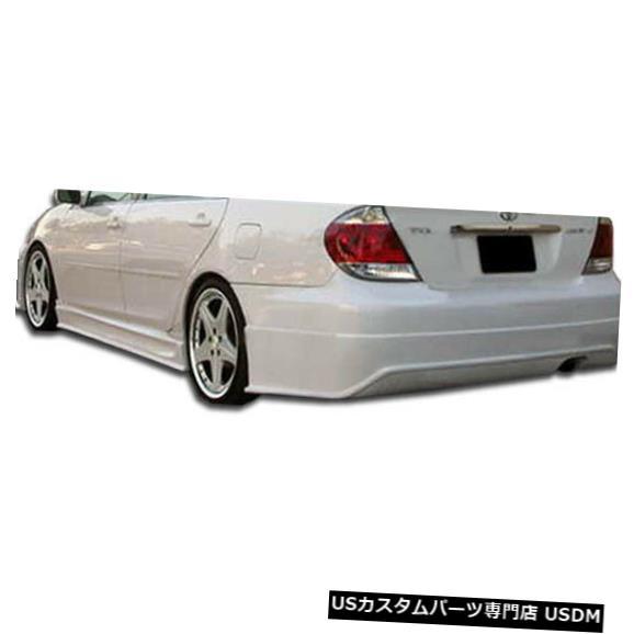 Rear Bumper 02-06トヨタカムリシグマDuraflexリアボディキットバンパー!!! 103289 02-06 Toyota Camry Sigma Duraflex Rear Body Kit Bumper!!! 103289