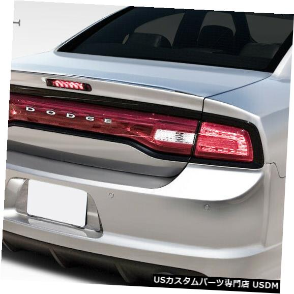 Rear Bumper 11-14ダッジチャージャーSRT Look Duraflexリアボディキットバンパー!!! 108037 11-14 Dodge Charger SRT Look Duraflex Rear Body Kit Bumper!!! 108037