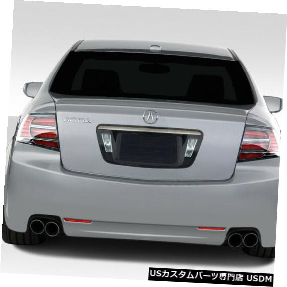 Rear Bumper 04-08 Acura TL K-1 Duraflexリアボディキットバンパー!!! 103523 04-08 Acura TL K-1 Duraflex Rear Body Kit Bumper!!! 103523