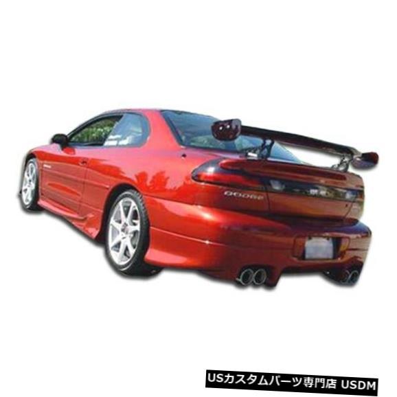 Rear Bumper 95-96ダッジアベンジャーバイパーオーバーストックリアバンパーリップボディキット!!! 101541 95-96 Dodge Avenger Viper Overstock Rear Bumper Lip Body Kit!!! 101541