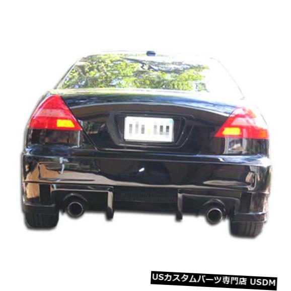 Rear Bumper 03-07ホンダアコード2DR EVO 5デュラフレックスリアボディキットバンパー!!! 100554 03-07 Honda Accord 2DR EVO 5 Duraflex Rear Body Kit Bumper!!! 100554