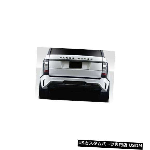 Rear Bumper 16-17ランドローバーレンジローバーAF-1エアロ機能GFKリアボディキットバンパー115068 16-17 Land Rover Range Rover AF-1 Aero Function GFK Rear Body Kit Bumper 115068