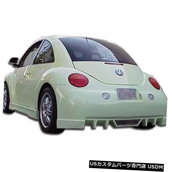 Rear Bumper 98-05フォルクスワーゲンビートルEVO 5 Duraflexリアボディキットバンパー!!! 105660 98-05 Volkswagen Beetle EVO 5 Duraflex Rear Body Kit Bumper!!! 105660