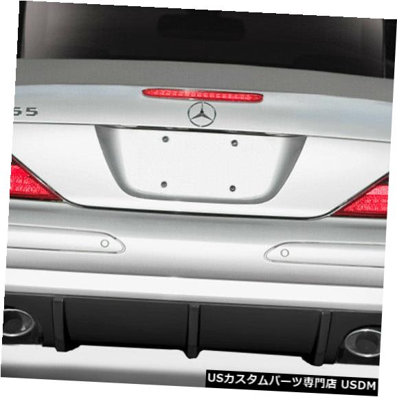 Rear Bumper 03-06メルセデスSL Lスポーツデュラフレックスリアバンパーリップボディキット!!! 112755 03-06 Mercedes SL L Sport Duraflex Rear Bumper Lip Body Kit!!! 112755