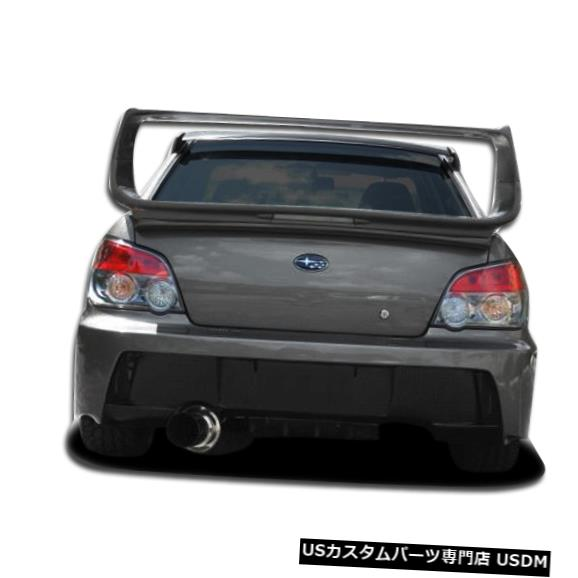 Rear Bumper 04-07スバルインプレッサ4DR Z-Speed Duraflexリアボディキットバンパー!!! 104168 04-07 Subaru Impreza 4DR Z-Speed Duraflex Rear Body Kit Bumper!!! 104168
