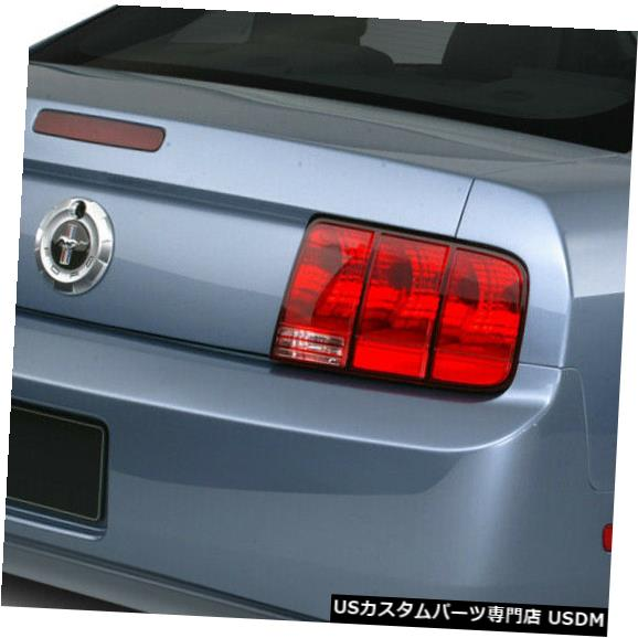 Rear Bumper 05-09フォードマスタングエレノアスタイルKBDウレタンリアボディキットバンパー!!! 37-2247 05-09 Ford Mustang Eleanor Style KBD Urethane Rear Body Kit Bumper!!! 37-2247