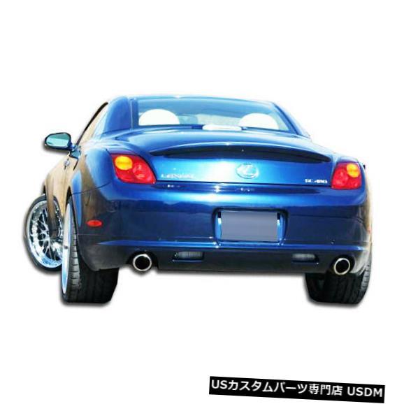 Rear Bumper 02-10レクサスSC W-1デュラフレックスリアバンパーリップボディキット!!! 103577 02-10 Lexus SC W-1 Duraflex Rear Bumper Lip Body Kit!!! 103577