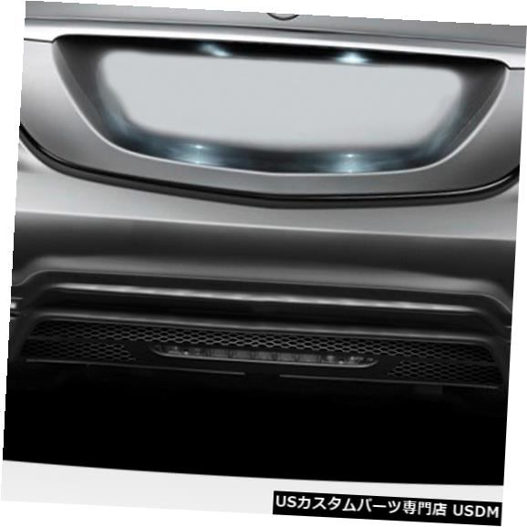 Rear Bumper 14-18メルセデスSクラスW-1 Duraflexリアボディキットバンパー!!! 113930 14-18 Mercedes S Class W-1 Duraflex Rear Body Kit Bumper!!! 113930