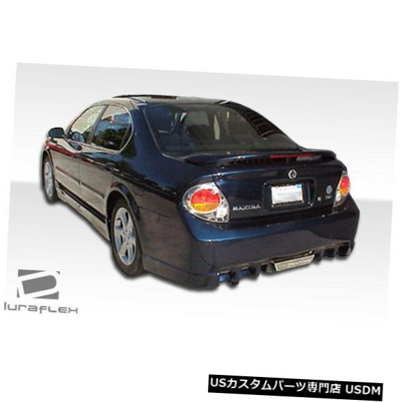Rear Bumper 00-03日産マキシマEVO 5 Duraflexリアボディキットバンパーに適合!!! 100140 00-03 Fits Nissan Maxima EVO 5 Duraflex Rear Body Kit Bumper!!! 100140