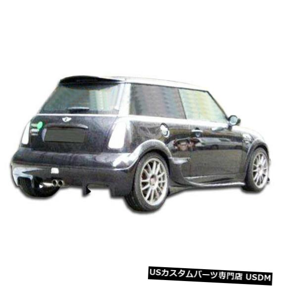 Rear Bumper 02-06 MINI Cooper Vader Duraflexリアボディキットバンパー!!! 100361 02-06 MINI Cooper Vader Duraflex Rear Body Kit Bumper!!! 100361