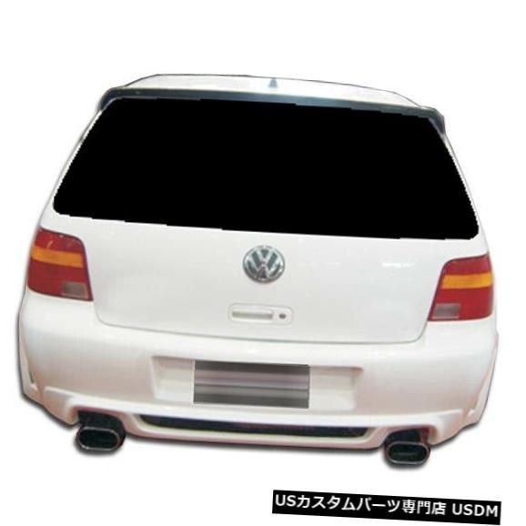 Rear Bumper 99-05フォルクスワーゲンゴルフベロシティデュラフレックスリアボディキットバンパー!!! 104521 99-05 Volkswagen Golf Velocity Duraflex Rear Body Kit Bumper!!! 104521