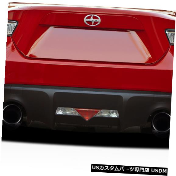 Rear Bumper 13-18 Scion FRS V-Speed Duraflexリアバンパーアドオンボディキット!!! 112061 13-18 Scion FRS V-Speed Duraflex Rear Bumper Add On Body Kit!!! 112061