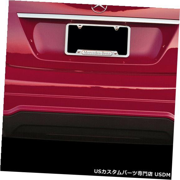 Rear Bumper 08-14メルセデスC350 w / o PDC C63 V2 Look Vaeroリアボディキットバンパー!!! 112044 08-14 Mercedes C350 w/o PDC C63 V2 Look Vaero Rear Body Kit Bumper!!! 112044