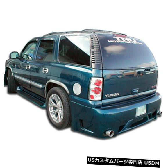 Rear Bumper 00-06シボレータホSWBプラチナDuraflexリアボディキットバンパー!!! 100017 00-06 Chevrolet Tahoe SWB Platinum Duraflex Rear Body Kit Bumper!!! 100017