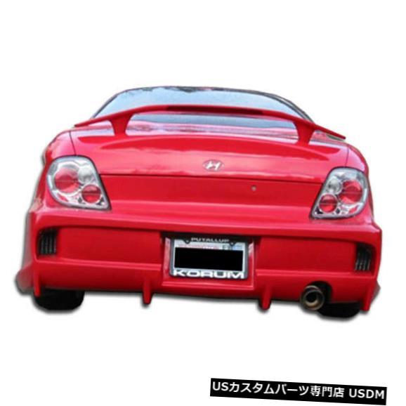 Rear Bumper 00-01ヒュンダイティブロンベイダーデュラフレックスリアボディキットバンパーに適合!!! 100081 00-01 Fits Hyundai Tiburon Vader Duraflex Rear Body Kit Bumper!!! 100081