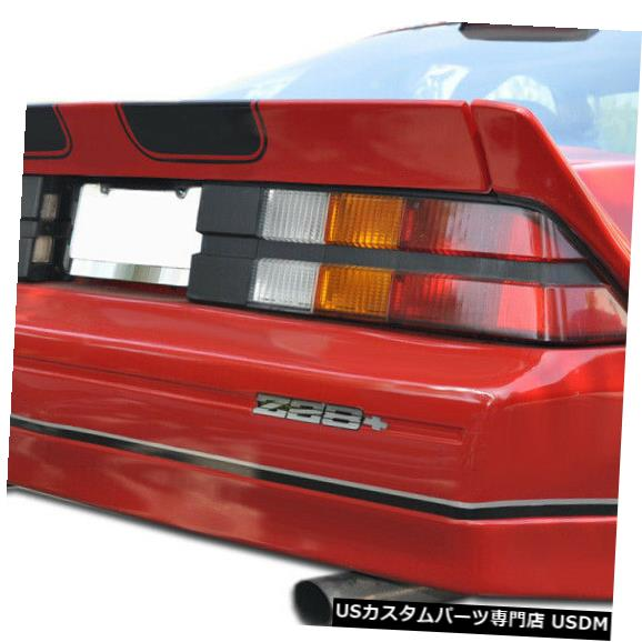 Rear Bumper 82-92シボレーカマロIroc-Z Duraflexリアボディキットバンパー!!! 106450 82-92 Chevrolet Camaro Iroc-Z Duraflex Rear Body Kit Bumper!!! 106450