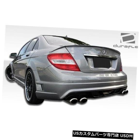 Rear Bumper 08-14メルセデスCクラスW-1 Duraflexリアボディキットバンパー!!! 106107 08-14 Mercedes C Class W-1 Duraflex Rear Body Kit Bumper!!! 106107