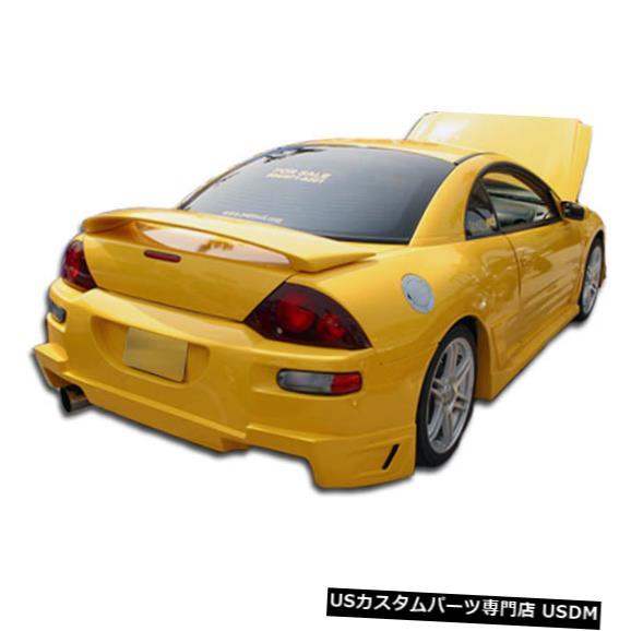 Rear Bumper 00-05三菱エクリプスブリッツデュラフレックスリアボディキットバンパー!!! 100119 00-05 Mitsubishi Eclipse Blits Duraflex Rear Body Kit Bumper!!! 100119