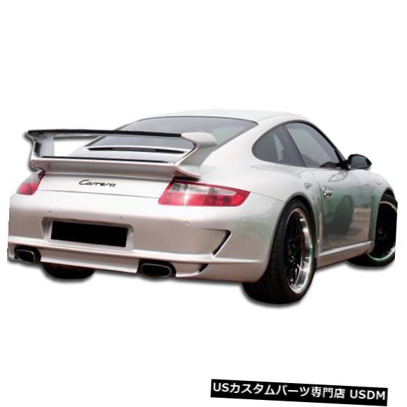 Rear Bumper 05-08ポルシェ997 GT-3 Duraflexリアボディキットバンパー!!! 105145 05-08 Porsche 997 GT-3 Duraflex Rear Body Kit Bumper!!! 105145
