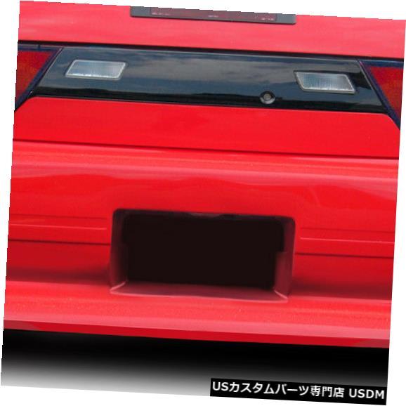 Rear Bumper 89-94は日産240SX Bloodsport Duraflexリアボディキットバンパーに適合!!! 114669 89-94 Fits Nissan 240SX Bloodsport Duraflex Rear Body Kit Bumper!!! 114669