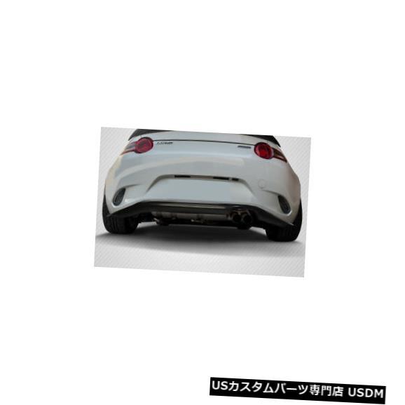 Rear Bumper 16-19マツダミアータCスピードカーボンファイバーリアバンパーリップボディキット!!! 114353 16-19 Mazda Miata C-Speed Carbon Fiber Rear Bumper Lip Body Kit!!! 114353