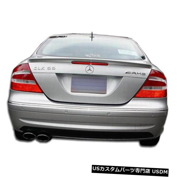 Rear Bumper 03-09メルセデスCLK AMGルックDuraflexリアボディキットバンパー!!! 103087 03-09 Mercedes CLK AMG Look Duraflex Rear Body Kit Bumper!!! 103087