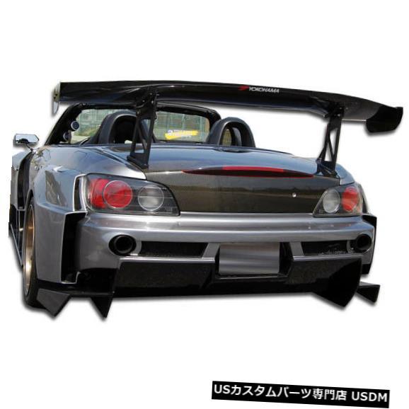 Rear Bumper 00-09ホンダS2000 AM-Sデュラフレックスワイドリアワイドボディキットバンパー!!! 106025 00-09 Honda S2000 AM-S Duraflex Wide Rear Wide Body Kit Bumper!!! 106025