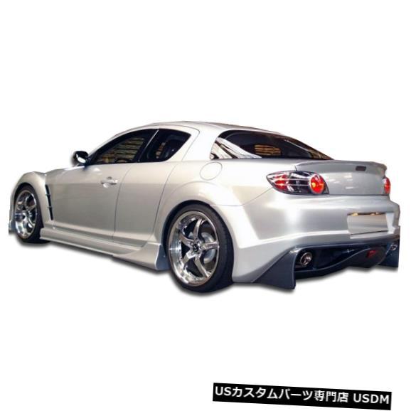 Rear Bumper 04-11マツダRX8ベイダーデュラフレックスリアボディキットバンパー!!! 100590 04-11 Mazda RX8 Vader Duraflex Rear Body Kit Bumper!!! 100590
