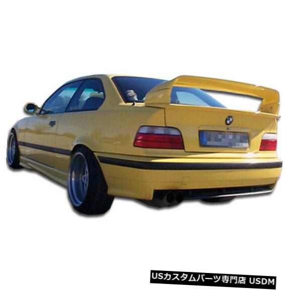 Rear Bumper 92-98 BMW 3シリーズコンバーチブルM3ルックDuraflexリアボディキットバンパー!!! 101081 92-98 BMW 3 Series Convertible M3 Look Duraflex Rear Body Kit Bumper!!! 101081