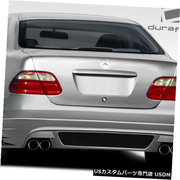 Rear Bumper 98-02メルセデスCLK 2DR BR-T Duraflexリアボディキットバンパー!!! 108053 98-02 Mercedes CLK 2DR BR-T Duraflex Rear Body Kit Bumper!!! 108053