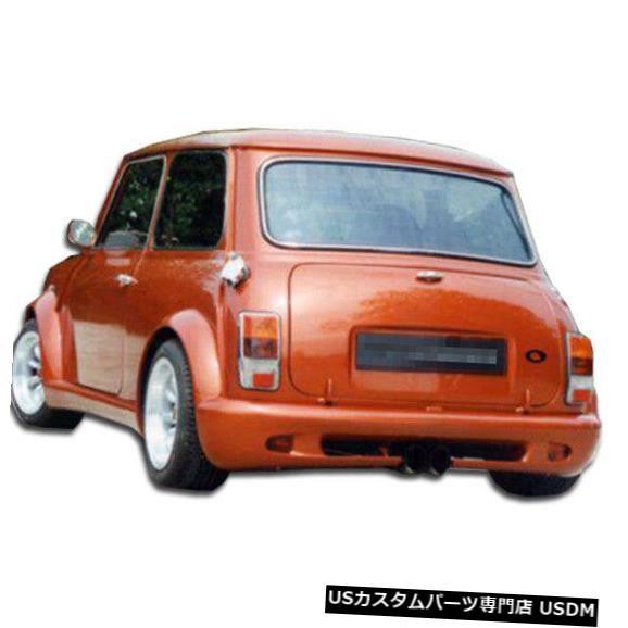 Rear Bumper 59-00ミニクーパータイプZ Duraflexリアワイドボディキットバンパー!!! 100687 59-00 MINI Cooper Type Z Duraflex Rear Wide Body Kit Bumper!!! 100687