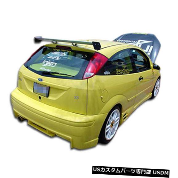 Rear Bumper 00-07フォードフォーカスHB EVO Duraflexリアボディキットバンパー!!! 100052 00-07 Ford Focus HB EVO Duraflex Rear Body Kit Bumper!!! 100052