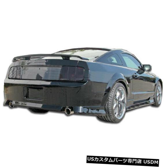 Rear Bumper 05-09フォードマスタングスタリオンデュラフレックスリアボディキットバンパー!!! 104298 05-09 Ford Mustang Stallion Duraflex Rear Body Kit Bumper!!! 104298