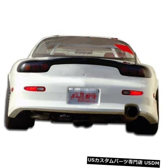 Rear Bumper 93-97マツダRX7 V-Speed Duraflexリアボディキットバンパー!!! 101303 93-97 Mazda RX7 V-Speed Duraflex Rear Body Kit Bumper!!! 101303