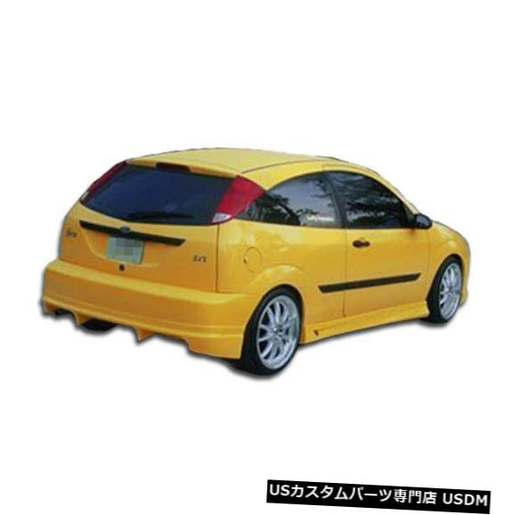 Rear Bumper 00-07フォードフォーカスHBポイズンデュラフレックスリアボディキットバンパー!!! 100038 00-07 Ford Focus HB Poison Duraflex Rear Body Kit Bumper!!! 100038