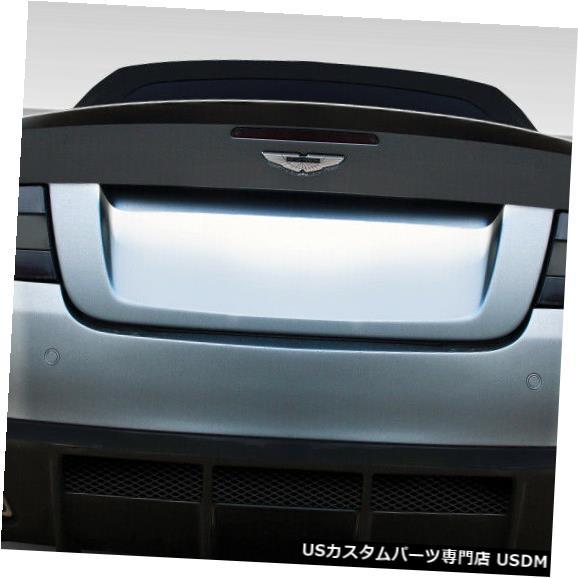 Rear Bumper 04-12アストンマーティンDB9エロスV.1デュラフレックスリアボディキットバンパー!!! 109642 04-12 Aston Martin DB9 Eros V.1 Duraflex Rear Body Kit Bumper!!! 109642