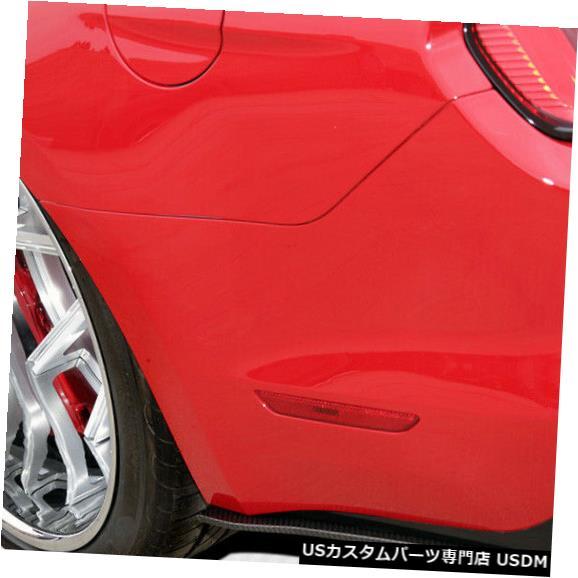 Rear Bumper 15-17フォードマスタングGTコンセプトカーボンファイバーリアバンパーアドオンボディキット!!! 112316 15-17 Ford Mustang GT Concept Carbon Fiber Rear Bumper Add On Body Kit!!! 112316