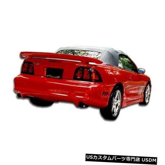 Rear Bumper 94-98フォードマスタングコルトデュラフレックスリアボディキットバンパー!!! 101435 94-98 Ford Mustang Colt Duraflex Rear Body Kit Bumper!!! 101435