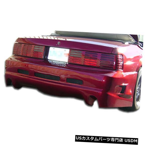 Rear Bumper 79-93フォードマスタングGT Duraflexリアボディキットバンパー!!! 100744 79-93 Ford Mustang GTX Duraflex Rear Body Kit Bumper!!! 100744