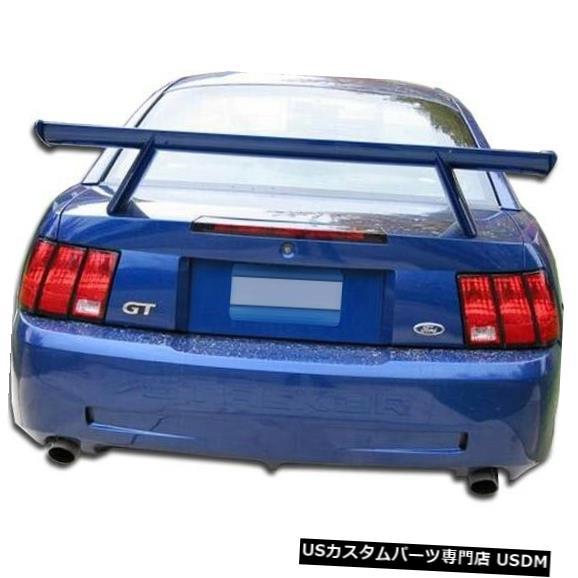 Rear Bumper 99-04フォードマスタングCVXデュラフレックスリアボディキットバンパー!!! 104840 99-04 Ford Mustang CVX Duraflex Rear Body Kit Bumper!!! 104840