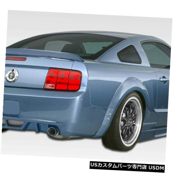 Rear Bumper 05-09フォードマスタングサーキットDuraflexリアボディキットバンパー!!! 106137 05-09 Ford Mustang Circuit Duraflex Rear Body Kit Bumper!!! 106137